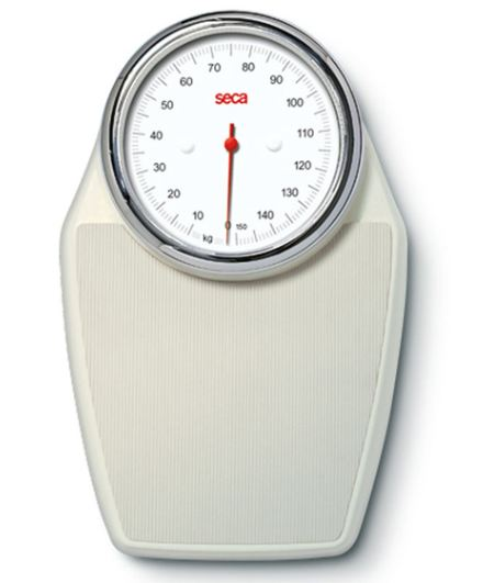 Seca 760 Colorata Mechanical Bathroom Scale Ecru