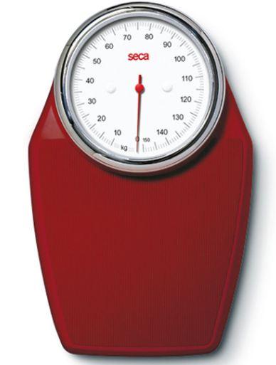 Seca 760 Colorata Mechanical Bathroom Scale Red