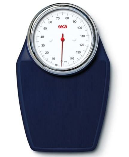 Seca 760 Colorata Mechanical Bathroom Scale Midnight Blue